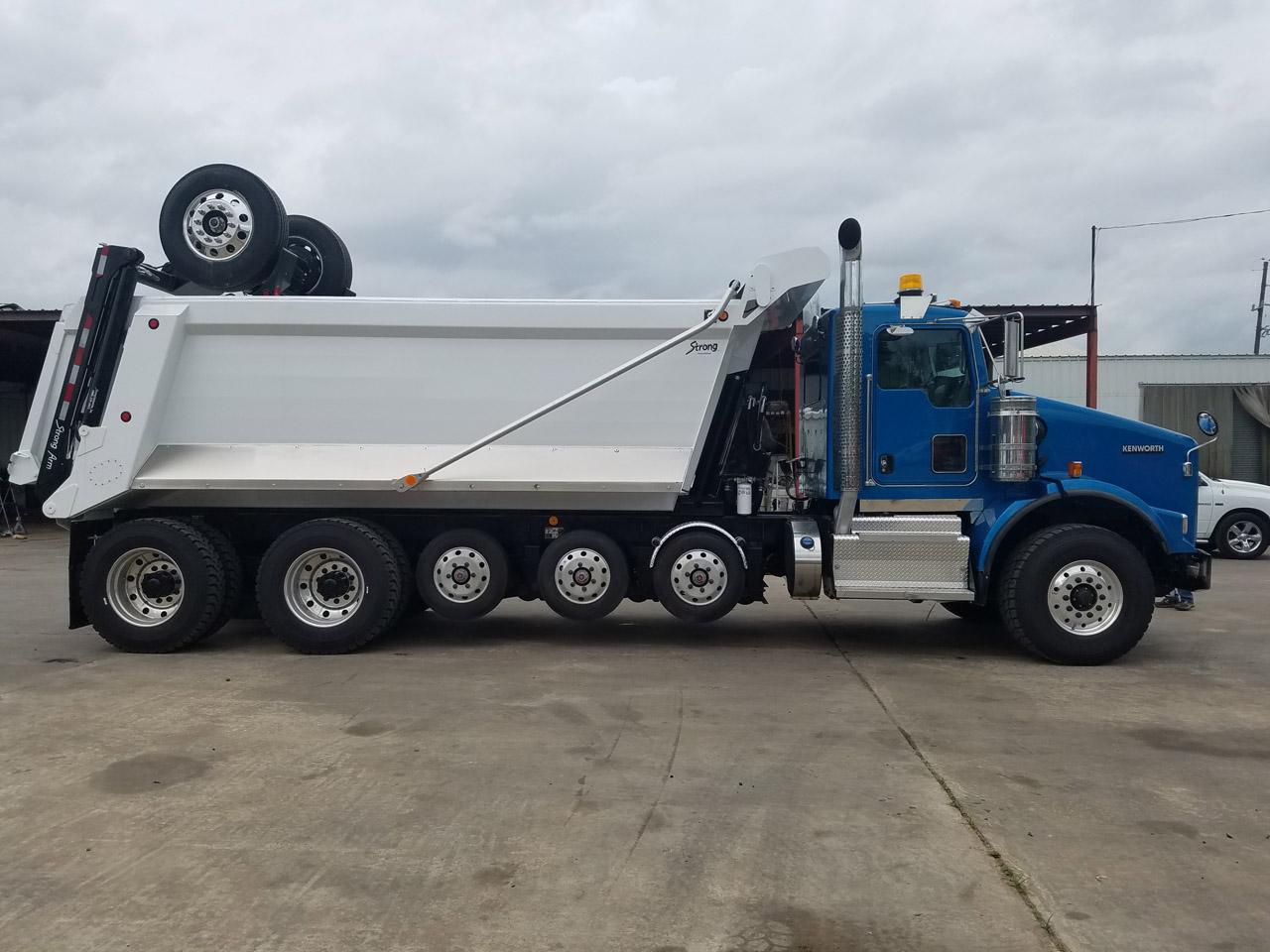 super dump super 18 dump truck for sale 2017 kenworth t800. Black Bedroom Furniture Sets. Home Design Ideas