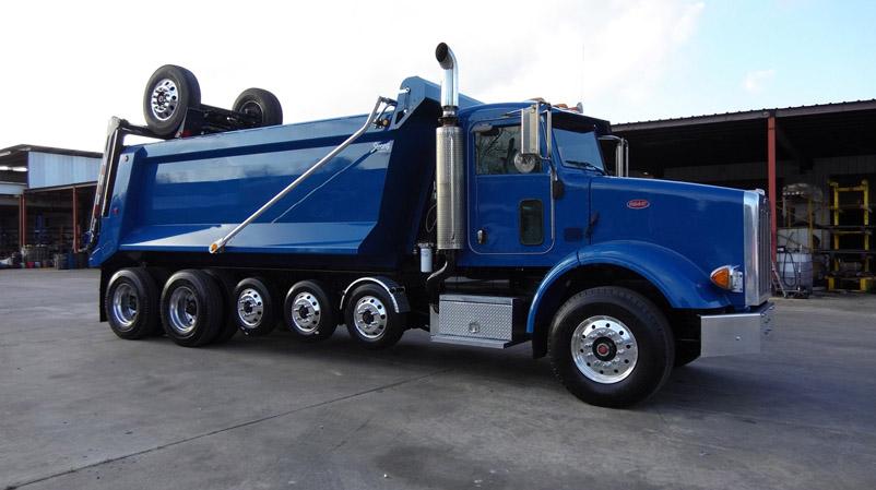 Peterbilt Super Dump Blue