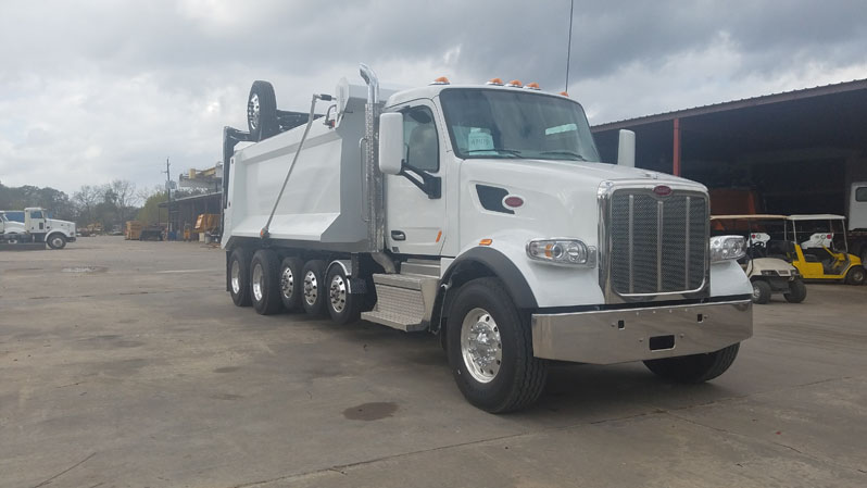 Super Dump / Super 18 Dump Truck for Sale - 2018 Peterbilt 567