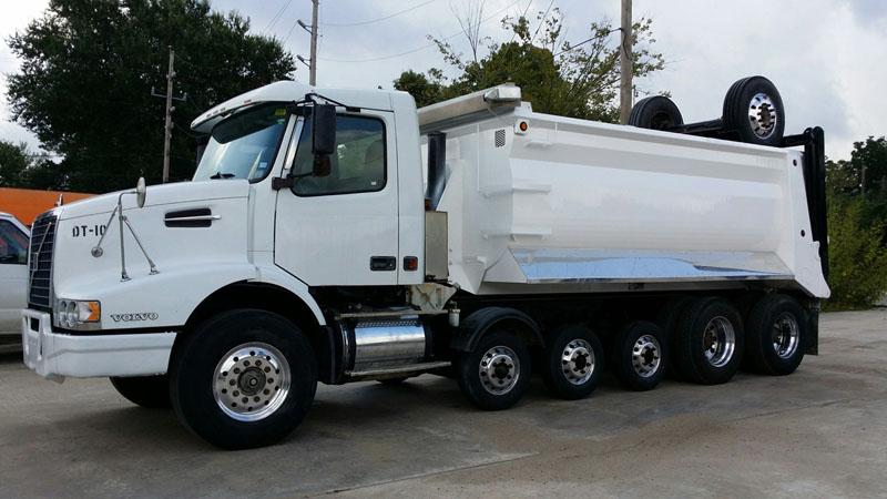 super dump super 18 dump truck for sale 2005 volvo vhd. Black Bedroom Furniture Sets. Home Design Ideas