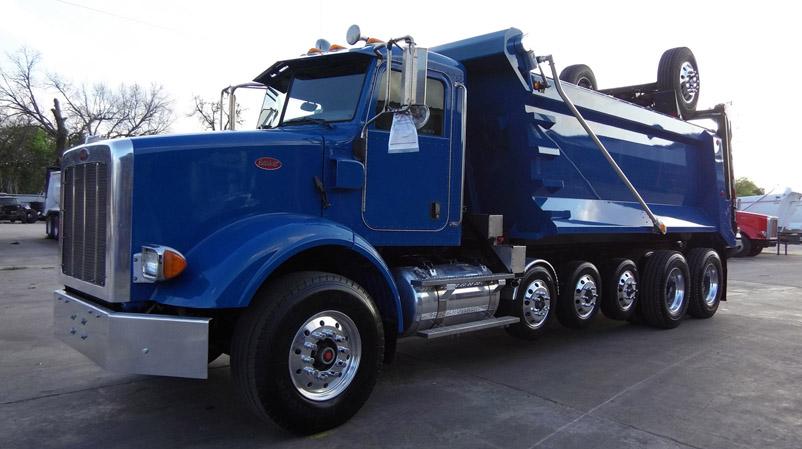 super dump super 18 dump truck for sale 2009 peterbilt 365. Black Bedroom Furniture Sets. Home Design Ideas