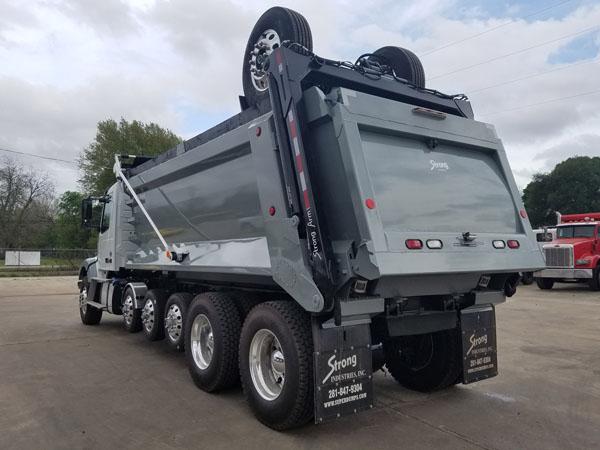 super dump super 18 dump truck for sale 2017 volvo vhd. Black Bedroom Furniture Sets. Home Design Ideas
